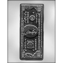 100 Dollar Bill Chocolate Mold