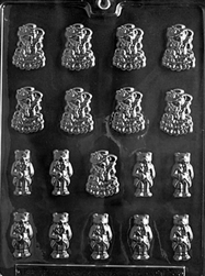 Bride & Groom Bears Chocolate Mold
