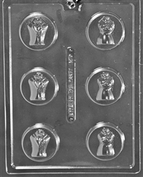 Bride & Groom Sandwich Cookie Mold