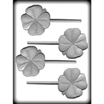 Four Leaf Clover Sucker Hard Candy Mold