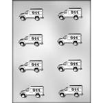 "2-1/4"" Ambulance Chocolate Mold"
