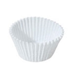 "1-1/4"" White Round Candy Cups"