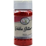 Red Edible Glitter - 1 Ounce