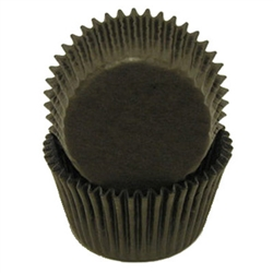 Black Round Baking Cups
