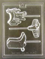 Western Cowboy Pop Chocolate Mold