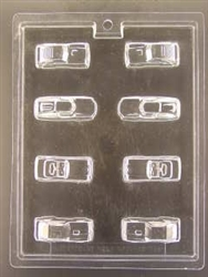 Mini Cars Chocolate Mold