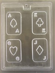 Playing Cards Chocolate Mold