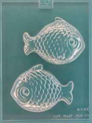 3D Sun Fish Chocolate Mold nautical ocean beach party