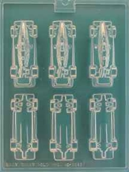 3D Indy Cars Chocolate Mold