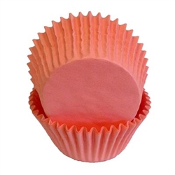 Light Pink Paper Baking Cups - 125 Count