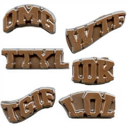 Text Messaging Chocolate Mold
