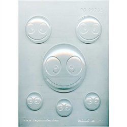 Happy Emoji Chocolate Mold
