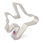 "4-1/2"" Jet Airplane Cookie Cutter"