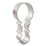 "4-1/2"" Baby Rattle Metal Cookie Cutter"