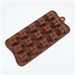 Interlocking Square Silicone Candy Mold chocolate homemade diy treat dessert