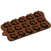 Partitioned Cube Silicone Candy Mold chocolate homemade treat dessert