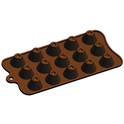 Dimpled Volcano Silicone Candy Mold chocolate homemade diy treat dessert