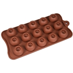 Dimpled Bonbon Silicone Candy Mold chocolate homemade diy