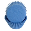Light Blue Paper Baking Cups - 100 Count
