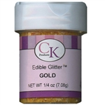 Gold Edible Glitter - 1/4 Ounce