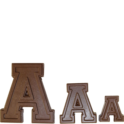 Collegiate Letters Chocolate Candy Mold from CK