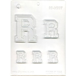 "Collegiate Letter ""R"" Chocolate Mold"