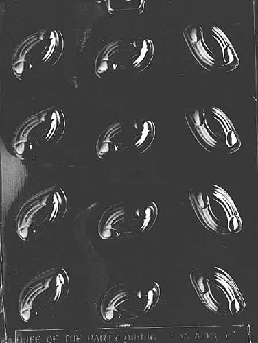 Candy Molds Swirl Traditional Life Of The Party Ao075
