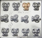 Small Mouse Chocolate Mold