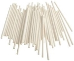 "100 Pack of 3-1/2"" x 5/32"" Paper Sucker Sticks"