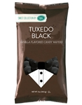 Tuxedo Black Vanilla Flavored Candy Wafers - 12 Ounce Bag
