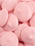 Pink Vanilla Flavored Candy Wafers - 12 Ounces