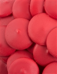 Red Vanilla Candy Wafers - 12 Ounce Bag
