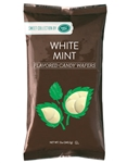 White Mint Flavored Candy Wafers - 12 Ounce Bag