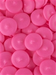 Bright Pink Vanilla Flavored Candy Wafers
