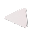 Triangle Shaped Cake Decorating Comb