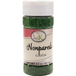 Green Nonpareils - 3.8 Ounce Bottle