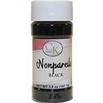 Black Nonpareils - 3.8 Ounce Bottle