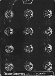 Bite Size Stylized Flower Chocolate Mold - LPAO118