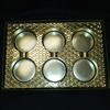 Sandwich Cookie Box with Gold Insert