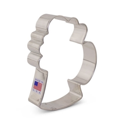 "4-1/4"" Beer Mug Cookie Cutter - 8090A"