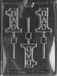 #1 Dad Lolly Chocolate Mold