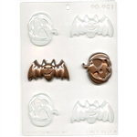Bats & Pumpkins Chocolate Mold Halloween Fall 90-981