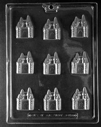 Bite Size Castle Chocolate Mold