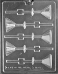 Martini Glass Lollipop Chocolate Mold