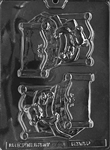 Bear In Bed Chocolate Candy Mold - LPB043