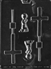 Boy Christening Chocolate Lolly Mold