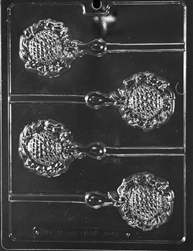 Baby Rattle Lolly Chocolate Mold - LPB060