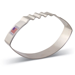 "4-3/8"" Large Football Cookie Cutter"