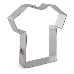 "4-3/8"" T-Shirt Cookie Cutter"