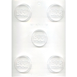 Boo! Sandwich Cookie Chocolate Mold